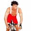 Mens Low Cut Cycling Singlet
