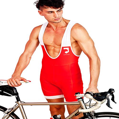 Mens Low Cut Cycling Singlet