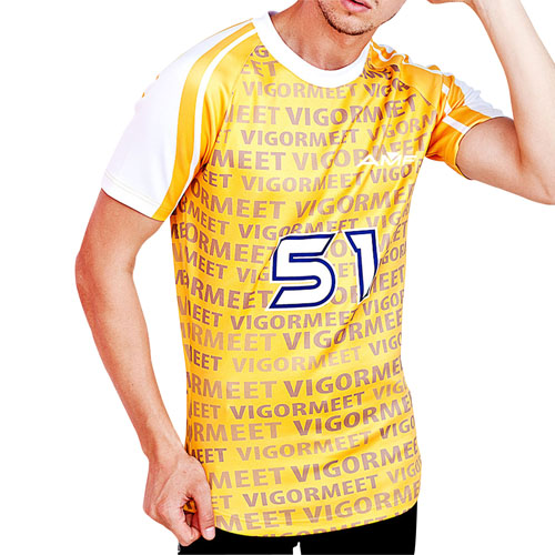 Stretchable Football Jersey