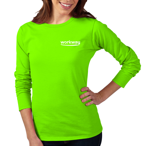 Slim Long-Sleeves Women T-Shirt