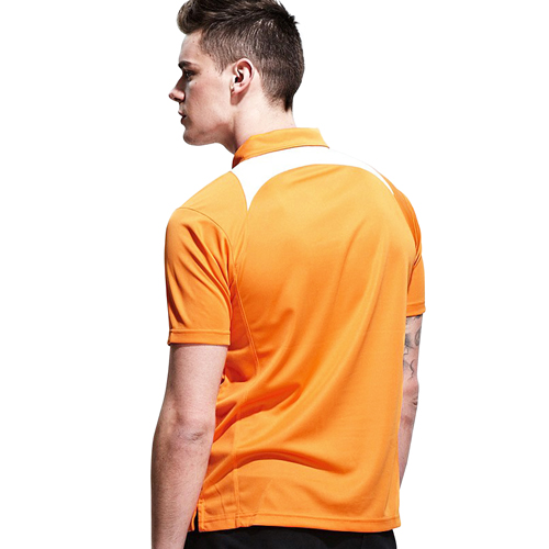 Quarter Zip Sport Polo Shirt