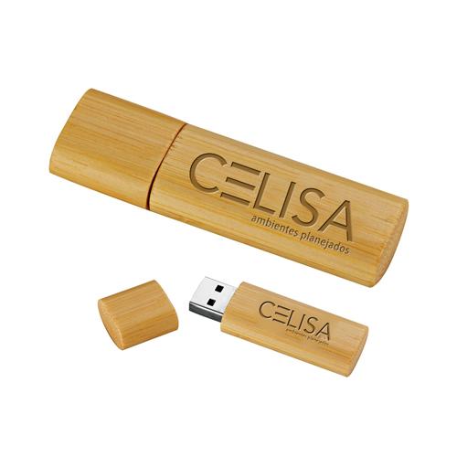 8GB Bamboo USB Flash Drive