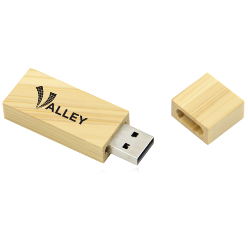 32GB Bamboo USB Flash Drive Image 9