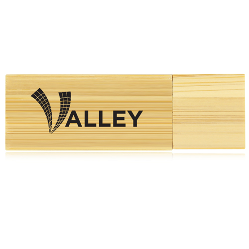32GB Bamboo USB Flash Drive Image 10