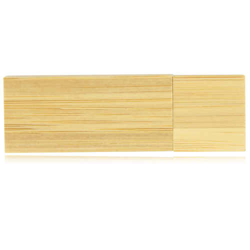 32GB Bamboo USB Flash Drive Image 1