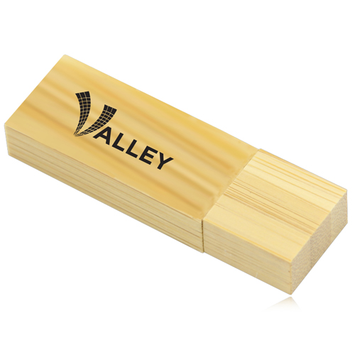 32GB Bamboo USB Flash Drive Image 5