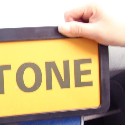 Plastic Vehicle Registration Plate Holder Image 6