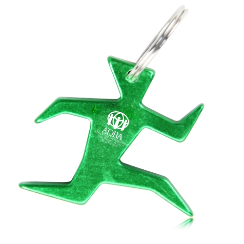 Running Man Bottle Opener Keychain