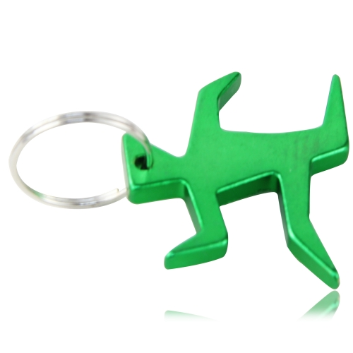 Running Man Bottle Opener Keychain Image 2