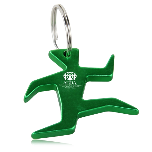 Running Man Bottle Opener Keychain Image 5