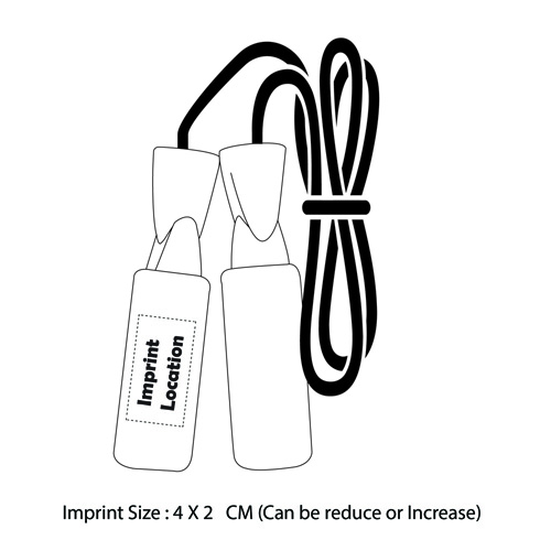 Skipping Rope With Ball Bearing Imprint Image