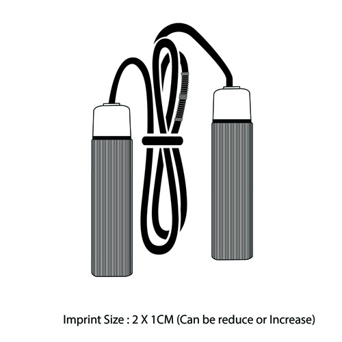 Foam Grip 2.7M Jump Rope Imprint Image
