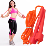 Durable Skipping Rope With Plastic Handle