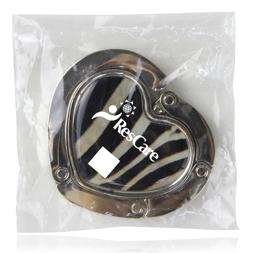 Heart Shaped Magnetic Purse Hanger