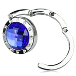 Round Shaped Diamond Purse Hanger