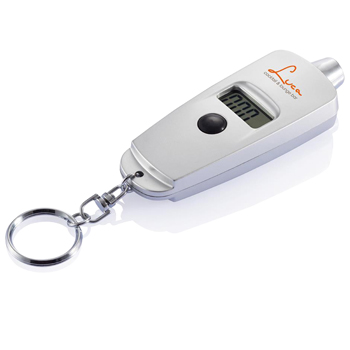 Ace Digital Tire Gauge With Keychain