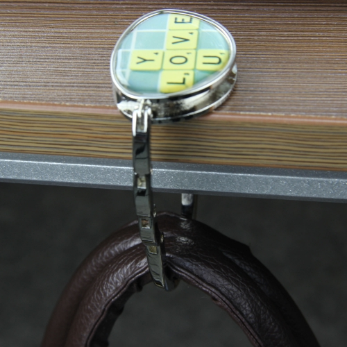 Metal Folding Handbag Purse Hanger