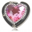Crystal Heart Shaped Purse Hanger