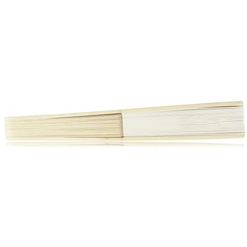 Bamboo Bone Sided-Paper Hand Fan