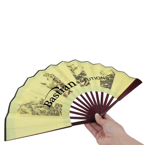 Bamboo 14 Ribs Hand Fan