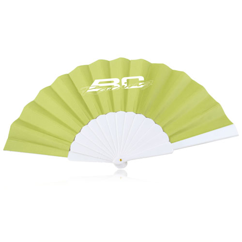 Hand Folding Polyester Fan Image 5