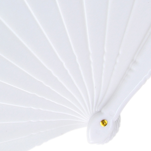 Hand Folding Polyester Fan Image 6
