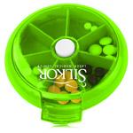 Round 7 Compartment Rotate Pill Box