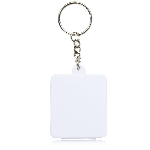 Square Shaped Pill Holder Keychain Image 1