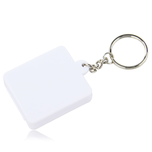 Square Shaped Pill Holder Keychain Image 2