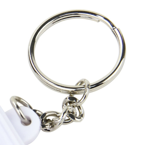 Square Shaped Pill Holder Keychain Image 6