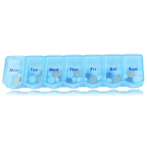 Translucent Weekly 7 Days Pill Box Image 4