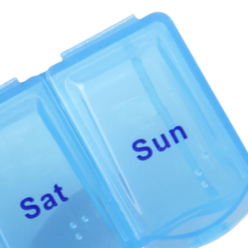 Translucent Weekly 7 Days Pill Box Image 7