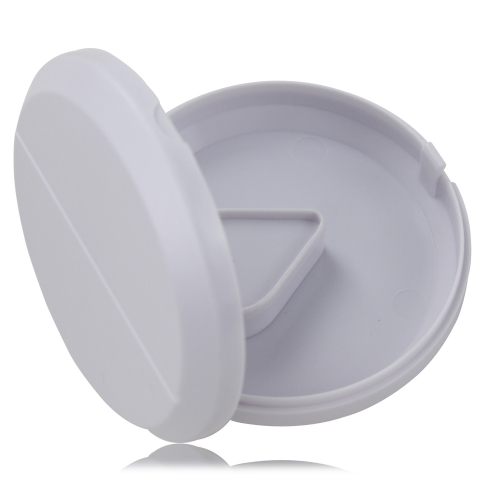 Round Tablet-Shaped Pill Cutting Box