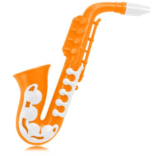Saxophone Shape Plastic Whistle