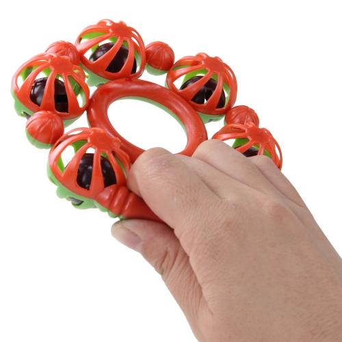 Hand Held Rattles With 5 Bells