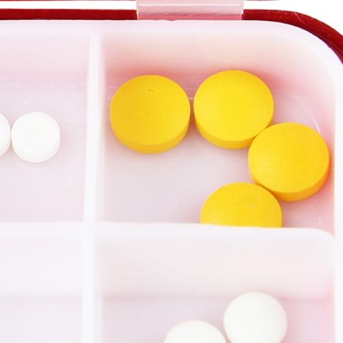 Cross Style Medicine Pill Box