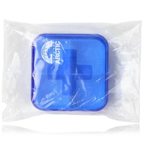 Cross Pattern Medicine Pill Box