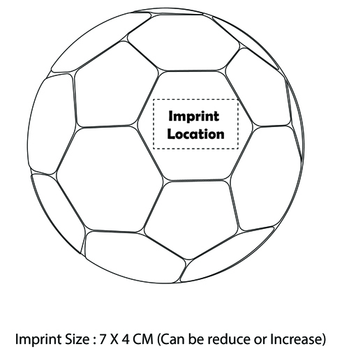 Standard Soccer Football Imprint Image