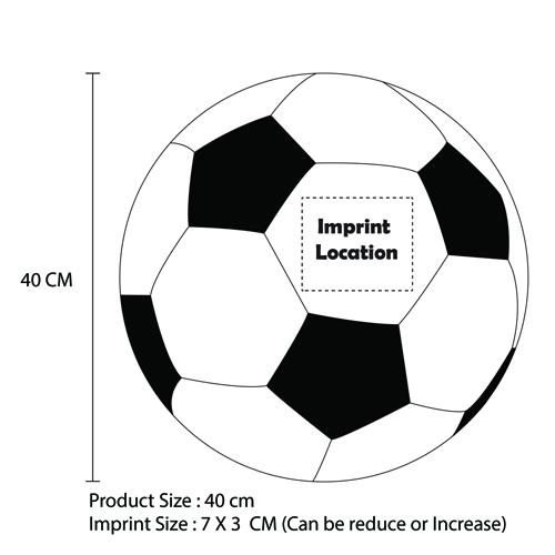 Football Shaped Inflatable Beach Ball