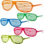 Shutter Striped Sunglass