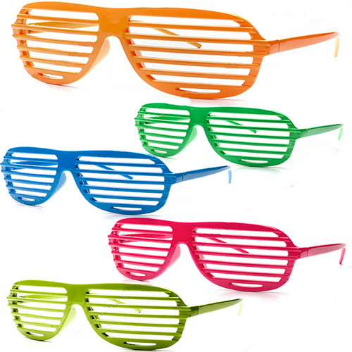 Shutter Striped Sunglass