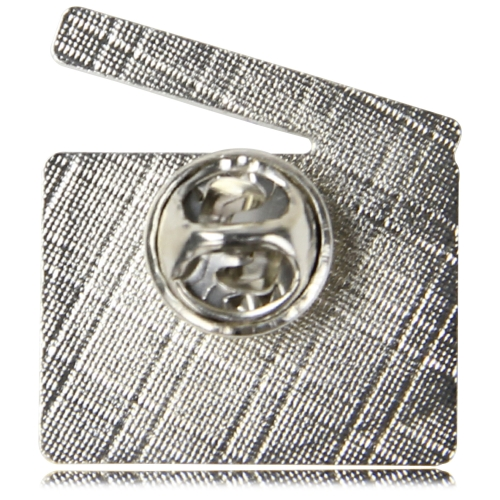 Logo Shaped Lapel Pin Image 6