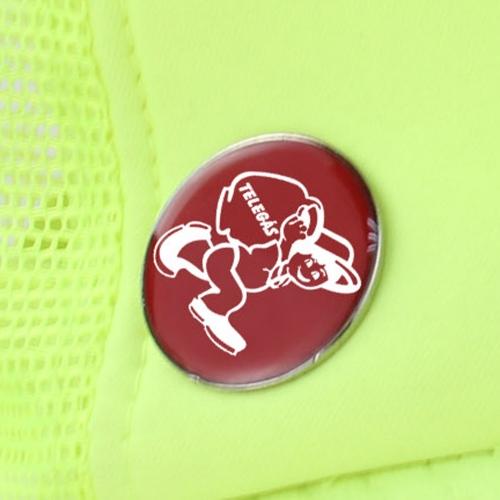 Custom Epoxy Coat Lapel Pin