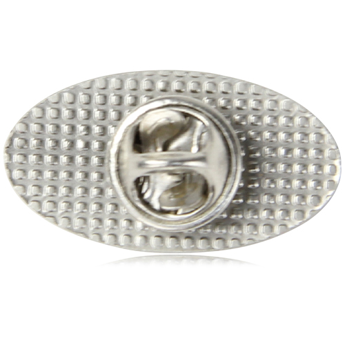 Custom Shaped Debossing Lapel Pin Image 6