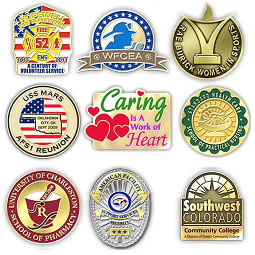Custom Shape Lapel Pin Badge