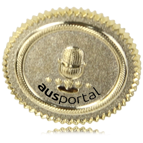 Matte Polished Effect Custom Lapel Pin Image 2
