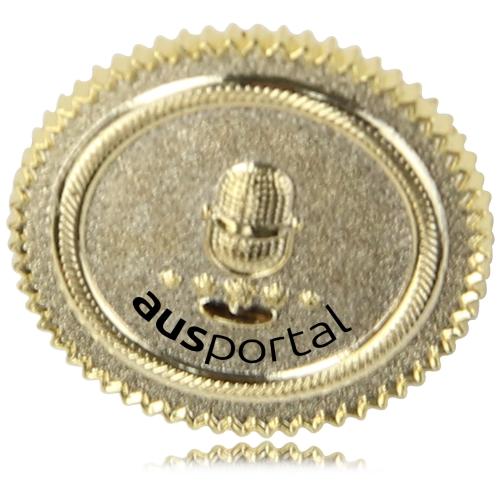 Matte Polished Effect Custom Lapel Pin