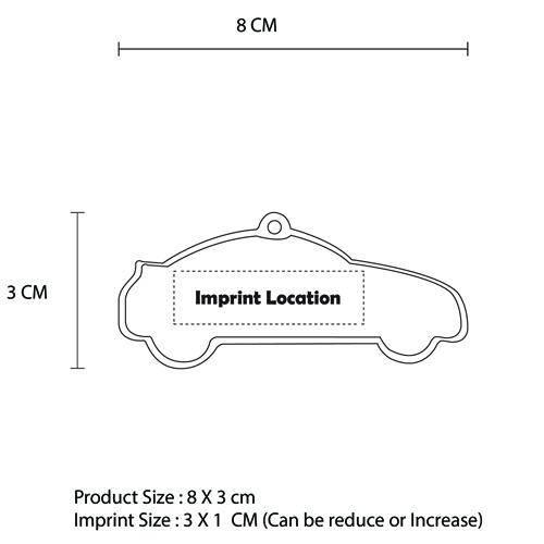 Car Shaped Safety Reflector