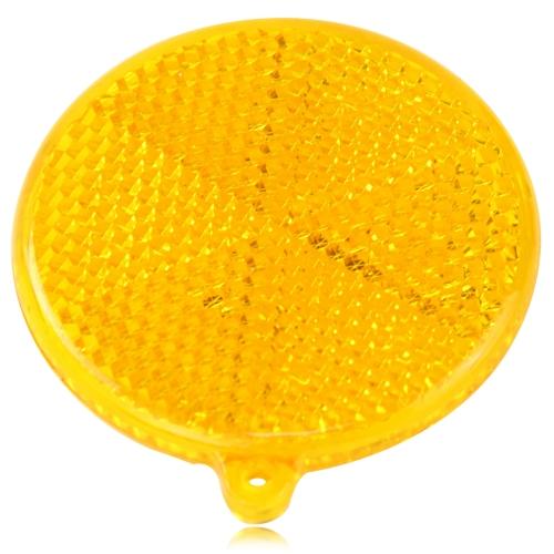 Round Shaped Pedestrian Reflector