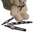Rhinestone Studded Eyebrow Tweezers